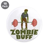 "Zombie Buff 3.5"" Button (10 pack)"