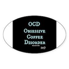 OCD: Obsessive Coffee Disorder Decal