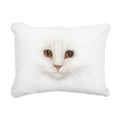 Cat Face Lumbar Pillow