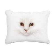 Cat Face Lumbar Pillow