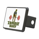 Zombie Buff Rectangular Hitch Cover