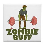 Zombie Buff Tile Coaster