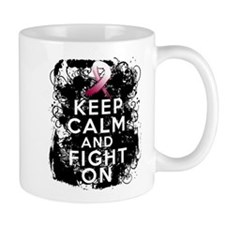 Head Neck Cancer Keep Calm Fight On Mug