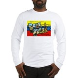 Port Huron Michigan Greetings Long Sleeve T-Shirt