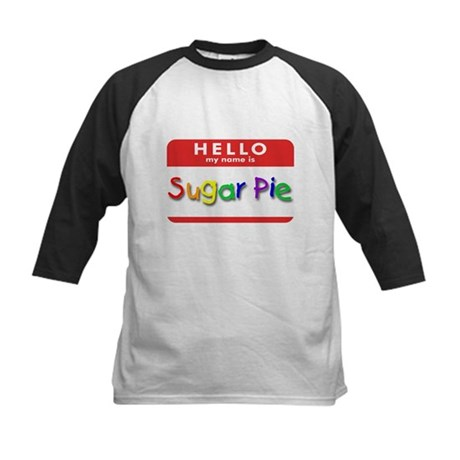 Sugar Pie Kids Baseball Jersey