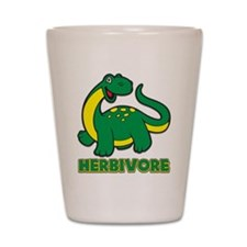 Herbivore Dinosaur Shot Glass