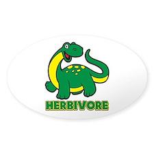 Herbivore Dinosaur Decal