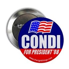 Condi Rice For President Button