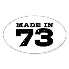 Made In 73 Decal