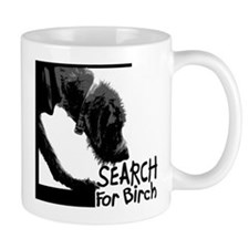 Search birch odor scent nose work Coffee Mug