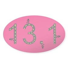 13.1 Pink Street Bumper Decal