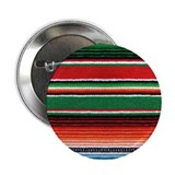 Mexican Sarape Design 2.25&quot; Button (10 pack)