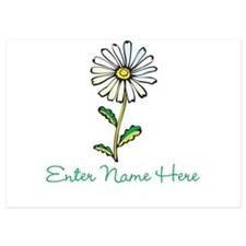 Personalized Daisy Invitations
