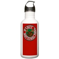 Banff Moose Circle Water Bottle