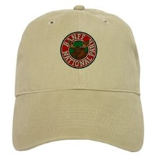 Banff Moose Circle Baseball Cap