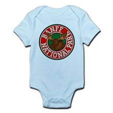 Banff Moose Circle Infant Bodysuit