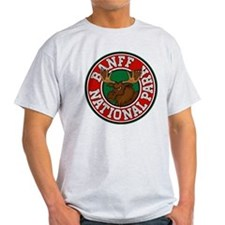 Banff Moose Circle T-Shirt