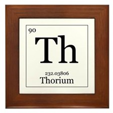 Elements - 90 Thorium Framed Tile