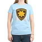 Orly County Sheriff Women's Pink T-Shirt