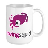 Roving Squid Purple Logo Mug