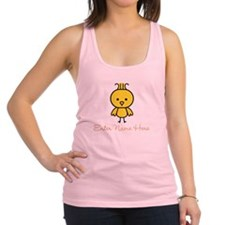 Personalized Baby Chick Racerback Tank Top