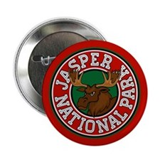 "Jasper Moose Circle 2.25"" Button (10 pack)"