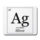 Elements - 47 Silver Mousepad