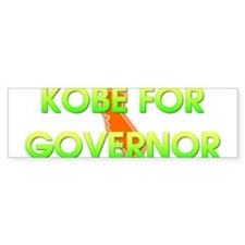 Kobe for Governor Bumper Car Sticker