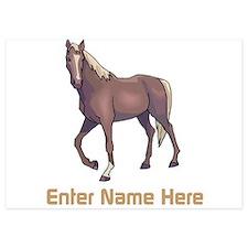 Personalized Horse Invitations