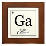 Elements - 31 Gallium Framed Tile