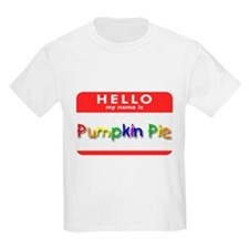 Pumpkin Pie Kids T-Shirt