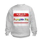 Pumpkin Pie Kids Sweatshirt