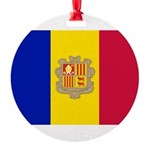 Andorra.jpg Round Ornament