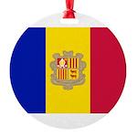 Andorra.jpg Round Ornament