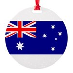 Australia.jpg Round Ornament