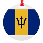 Barbados.jpg Round Ornament