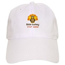 Personalized Little Turkey Baseball Cap
