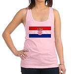 Croatia.jpg Racerback Tank Top