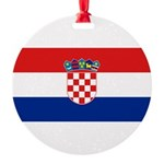 Croatia.jpg Round Ornament