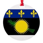 Guadeloupe.jpg Round Ornament