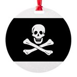 Jolly Roger.jpg Round Ornament