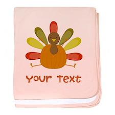 Thanksgiving Turkey baby blanket