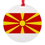 Macedonia.jpg Round Ornament