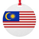 Malaysia.jpg Round Ornament