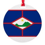 Sint Eustatius.jpg Round Ornament