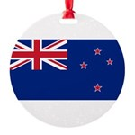 New Zealand.jpg Round Ornament