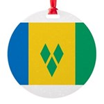 Saint Vincent and the Grenadines.jpg Round Ornamen