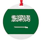 Saudi Arabia.jpg Round Ornament