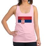 Serbia.jpg Racerback Tank Top