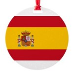 Spain.jpg Round Ornament